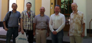 Visiting Siemens SCADA experts in L'viv_