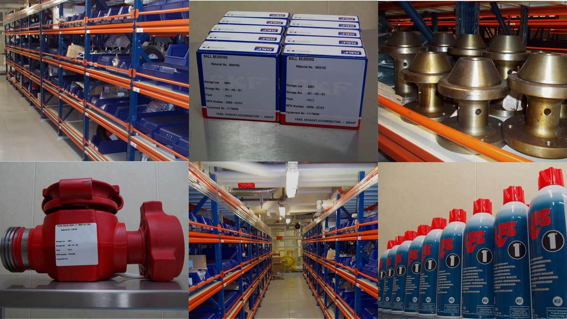 Materials-Management services