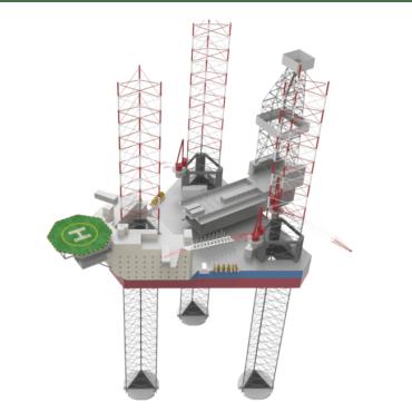 3D Keel - Jackup