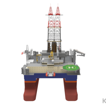 3D Keel - semi submersible