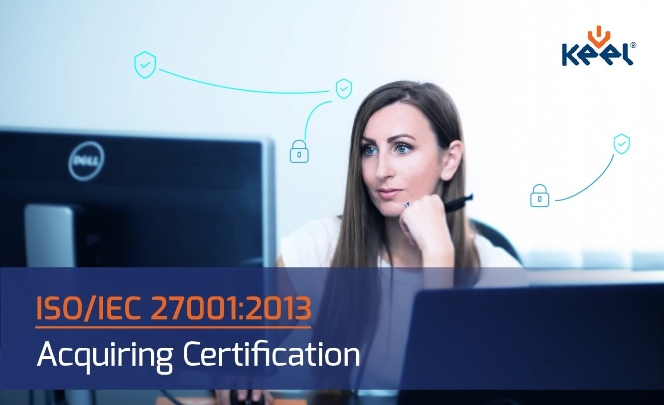 ISO 27001 certification in Keel Solution