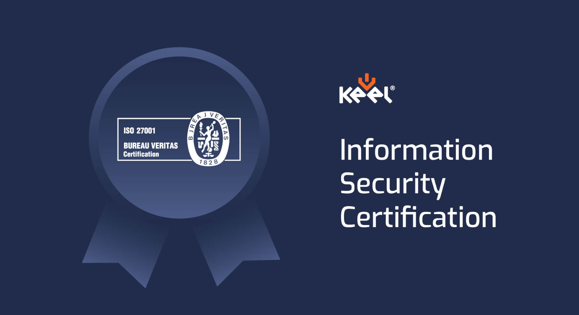 ISO 27001 certification at Keel Solution
